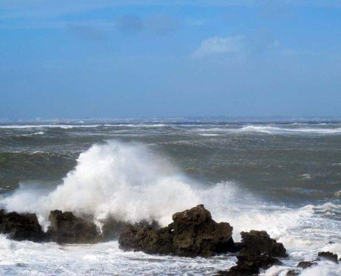 Sturm in Cadiz