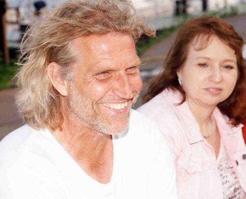 Glücklicher Eigner- Raz - Ralf-Armin Zaeske bei der Taufe