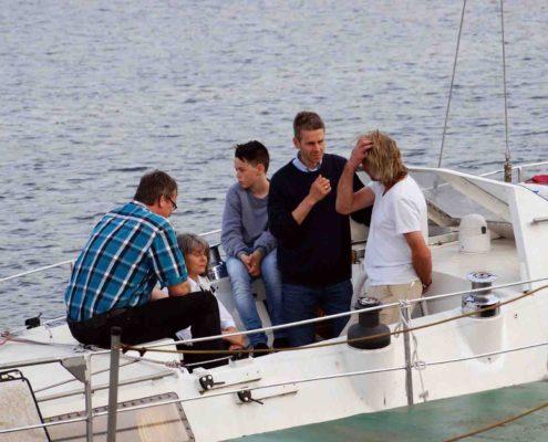 Schiffsbesichtigung