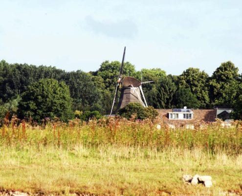 Idyllische Niederlande, da darf die Windmühle nicht fehlen