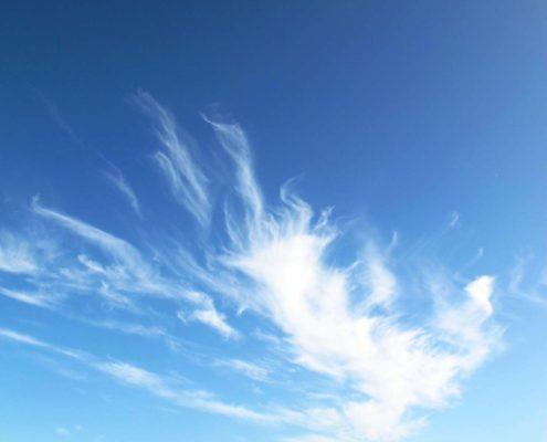 Gleiches Wasser andere Wolke