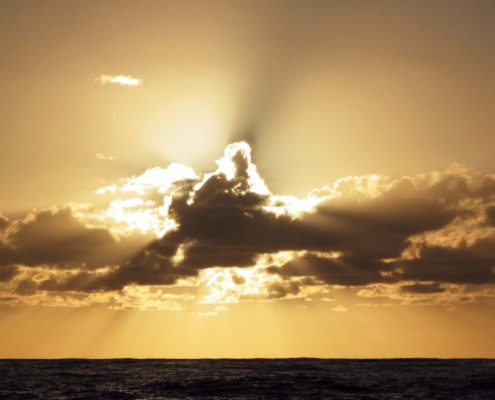 Die Welt ist wieder gut - Wasser - Sonne - Wolken