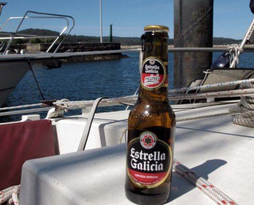 Das erste Spanische Bier in Viveiro