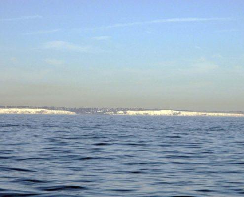 """Die berühmten """"White Cliffs"""""""