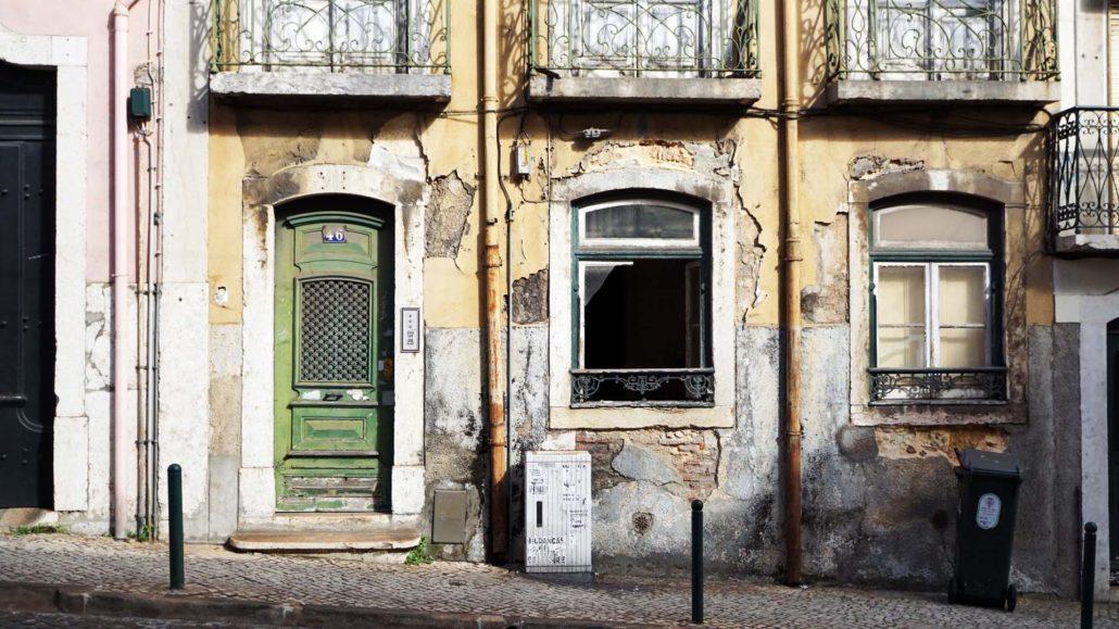 Verfallene Häuser, davon gibt esd leider viel zu viel