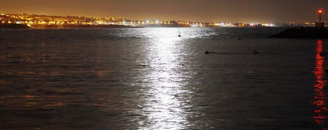 Cascais in der Nacht