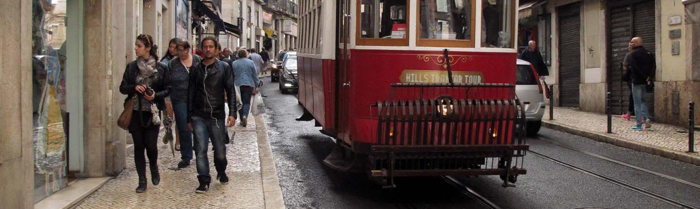 Diese süssen kleinen Strassenbahnen
