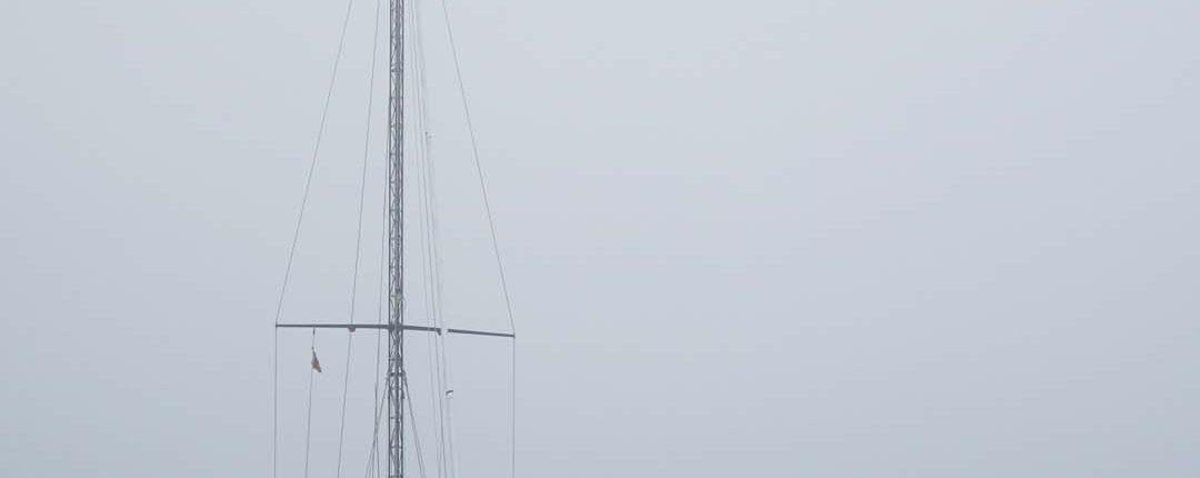 La Coruna im Nebel