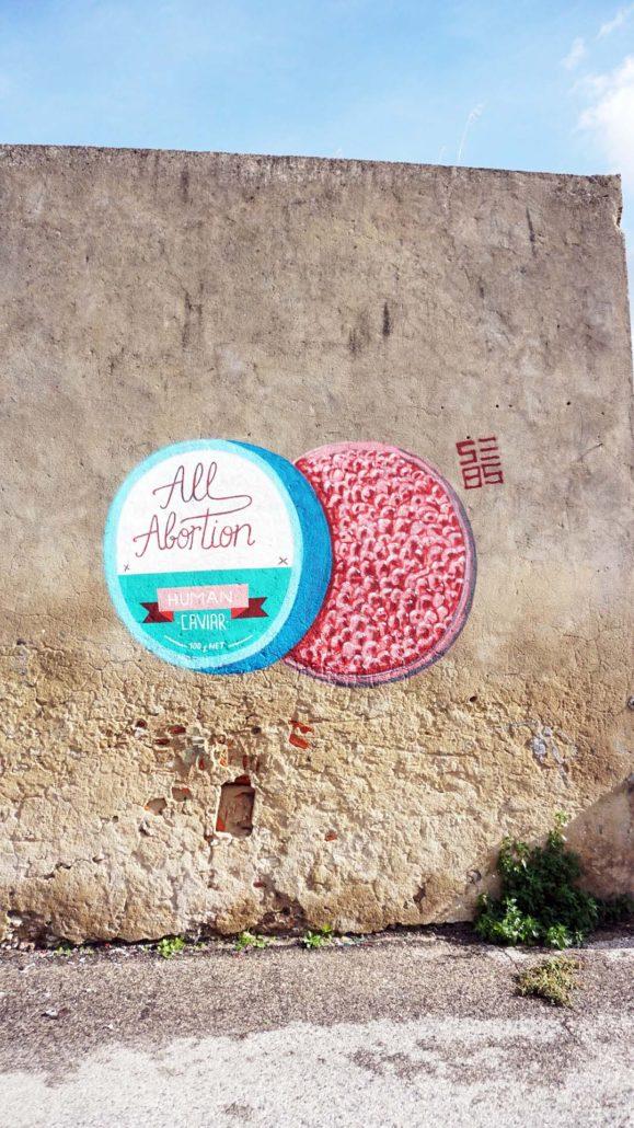 Street Art Lissabon und drumherum