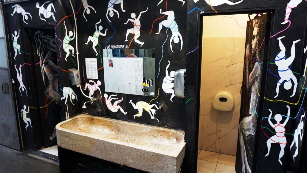 Coole Toilette