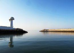 Agadir Hafeneinfahrt