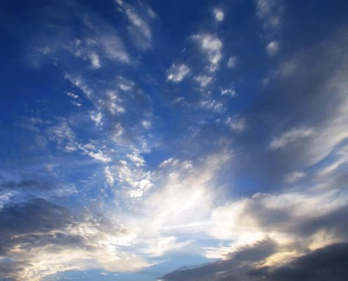 Sonne - Wolken