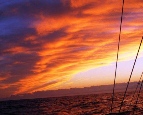 Wasser - Sonne - Wolken