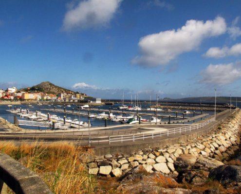 Muxia Hafen