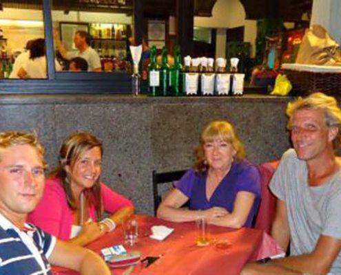 Oviedo - Wiedersehen mit Herme, Carlotta und Oliver