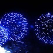 Feuerwerk am Rio Tejo