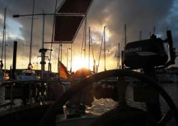 Niewport - Abendstimmung im Hafen
