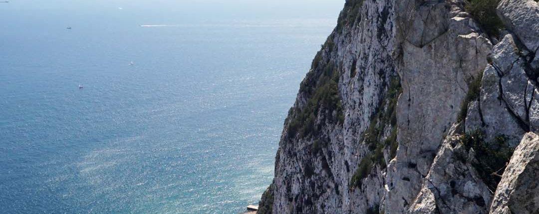 Steile Wand