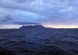 The Rock - Blick zurück nach Gibraltar
