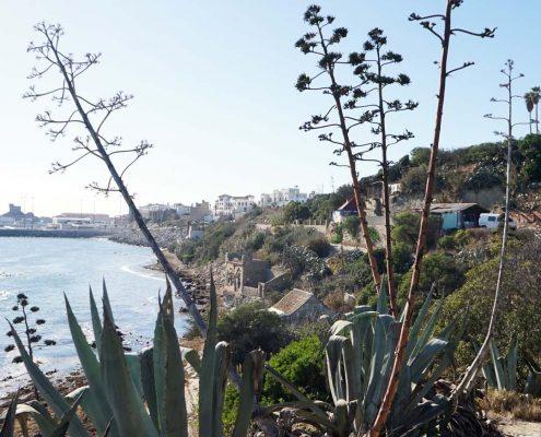 Strasse von Gibraltar - Blick auf Tarifa
