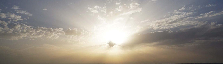 Mazagon - Sonne - Wasser - Wolken