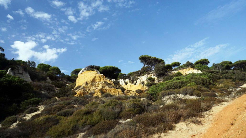 Mazagon - Donana - Naturschutzgebiet - Steilküste