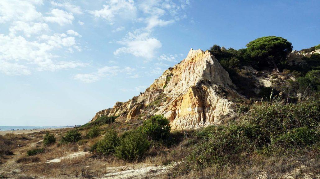 Mazagon - Donana Steilküste - Naturschutzgebiet