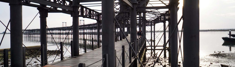 Huelva - Alte Zugverladebrücke