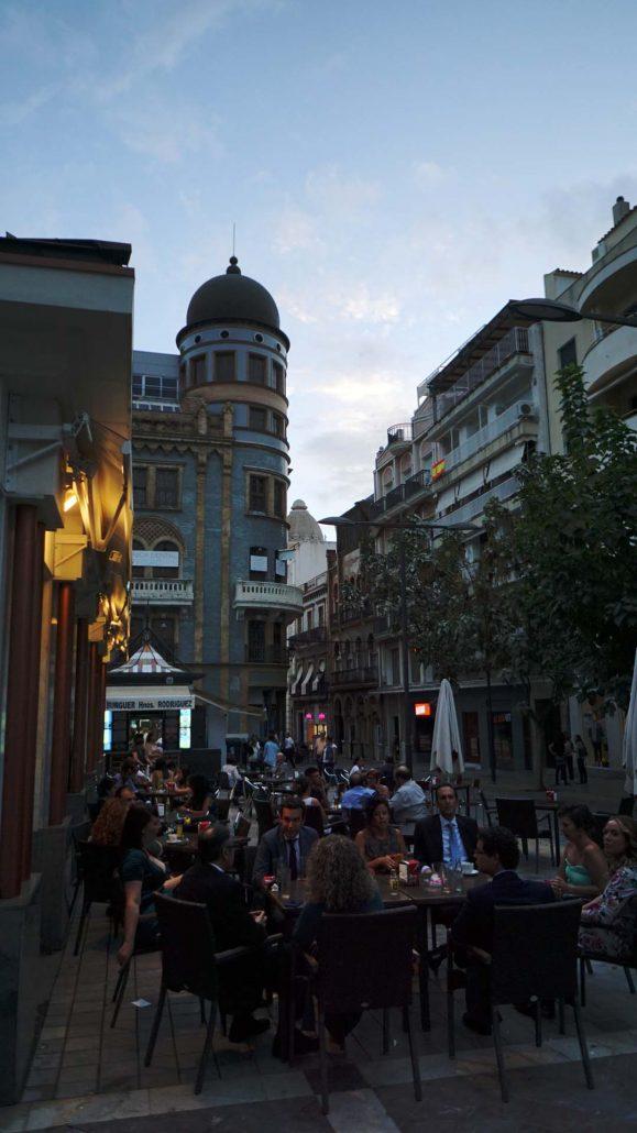Huelva - Abendleben
