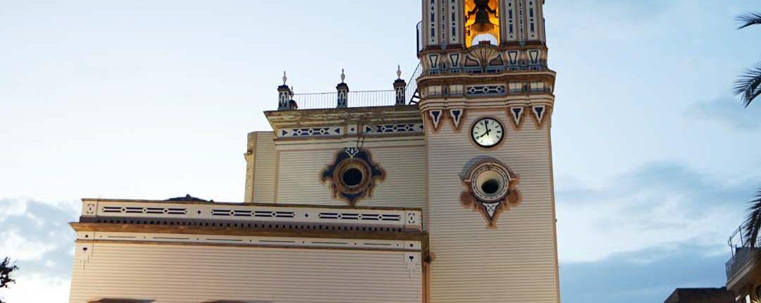 Huelva - Baue Stunde - Mit Kirche