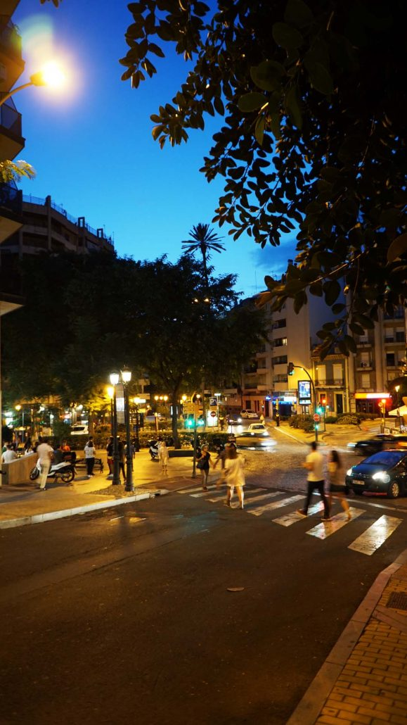 Huelva - Blaue Stunde