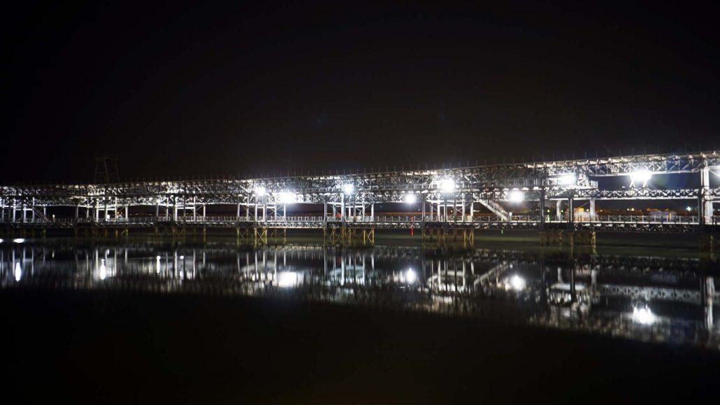 Huelva - Alte Zugverladungsbrücke