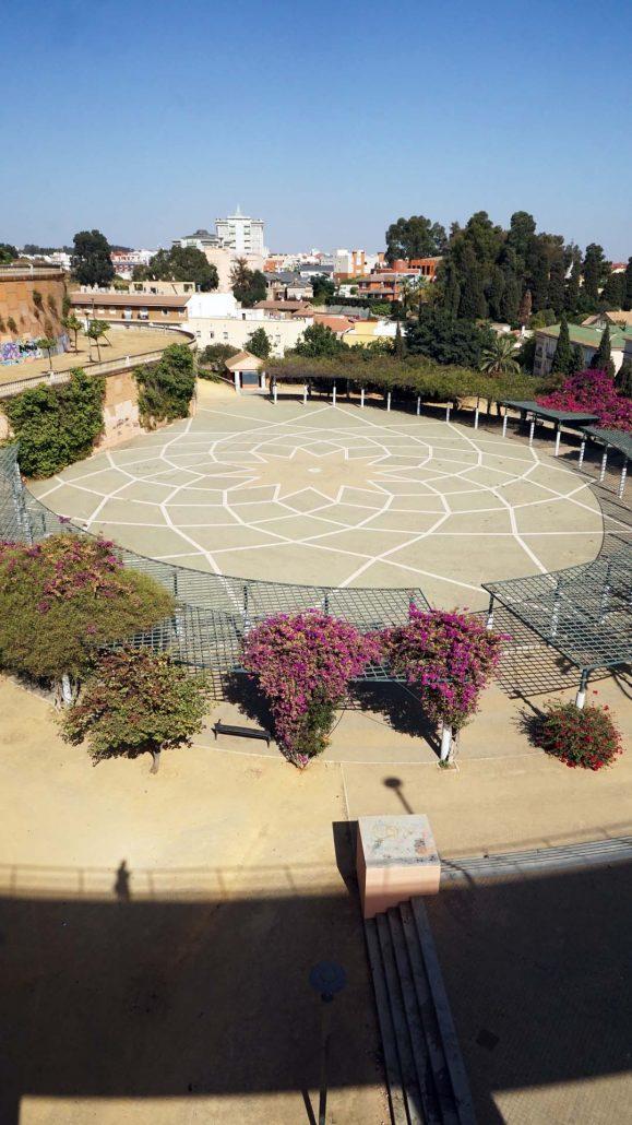 Huelva - Parque Alonso Sanches . . . sehr verlassen dort