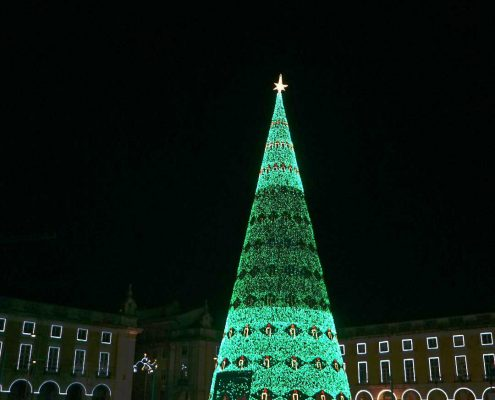 Lissabon - Silvester in der Altstadt - Praca de Commercio