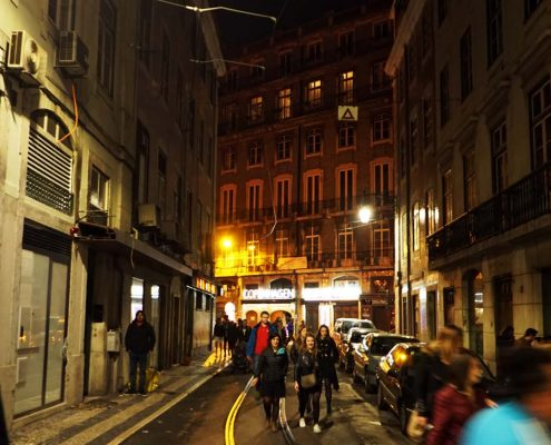 Lissabon - Silvester in der Altstadt