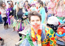 Karneval in Sesimbra - Montag - Heute nur Clowns