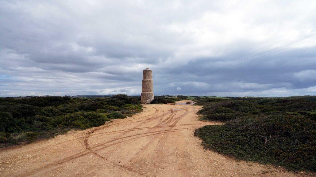 Cabo Espichel - Turm im Nichts