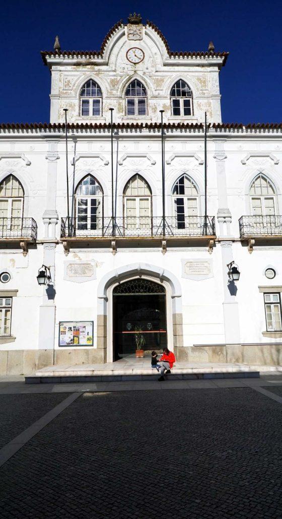 Evora - Schon wieder ein Platz - Weltkulturerbe