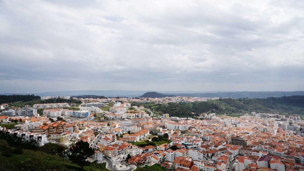 Nazare - Blick über die Stadt