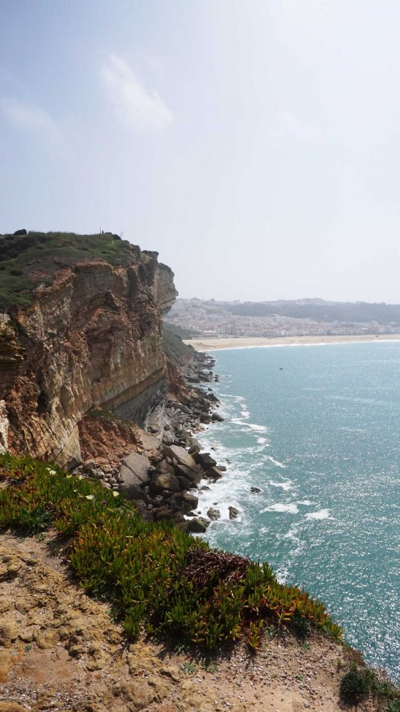 Nazare - Steilküste