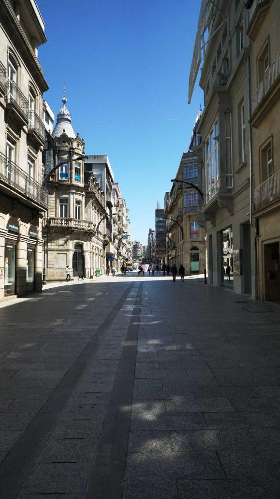 Vigo - Innenstadt - Einkaufsstrasse