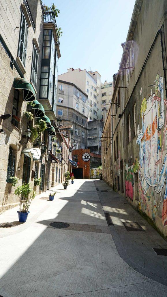 Vigo - Innenstadt - Kneipengegend