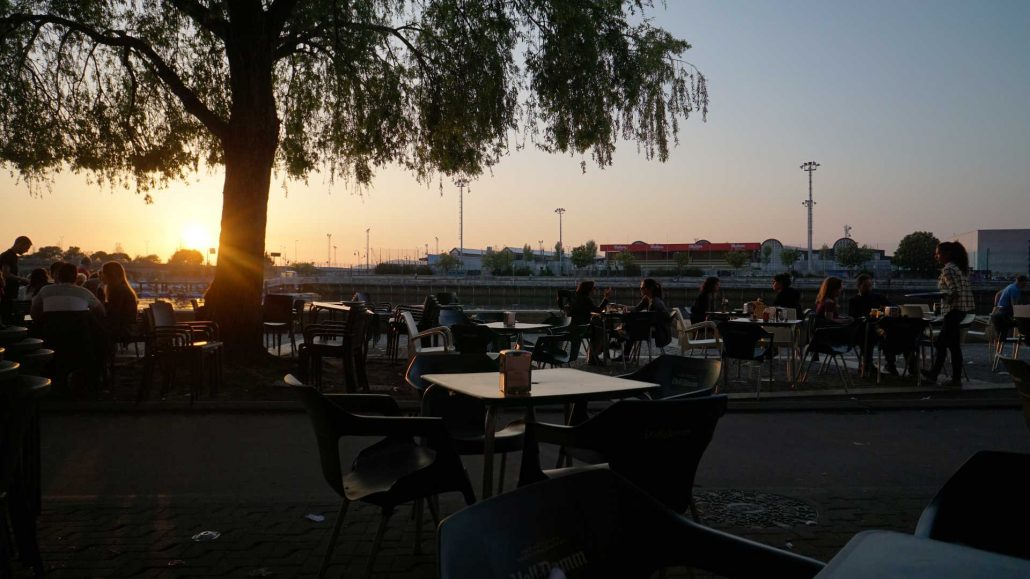 Vigo - Abends in Bouzas - Sonnenuntergang am