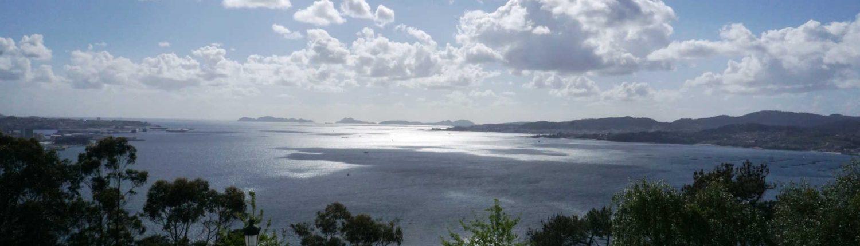 Ria de Vigo - Blick über den Ria