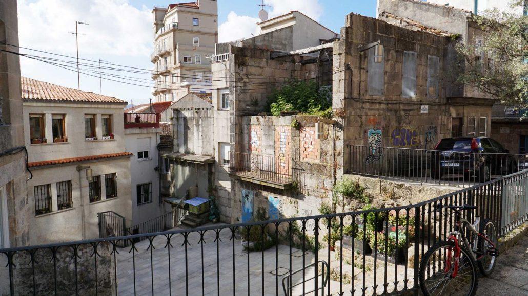 Vigo - Blick in die Altstadt