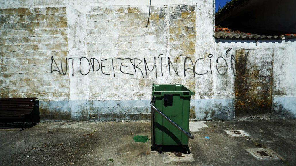 Muxia - Selbsterklärend - Street Art