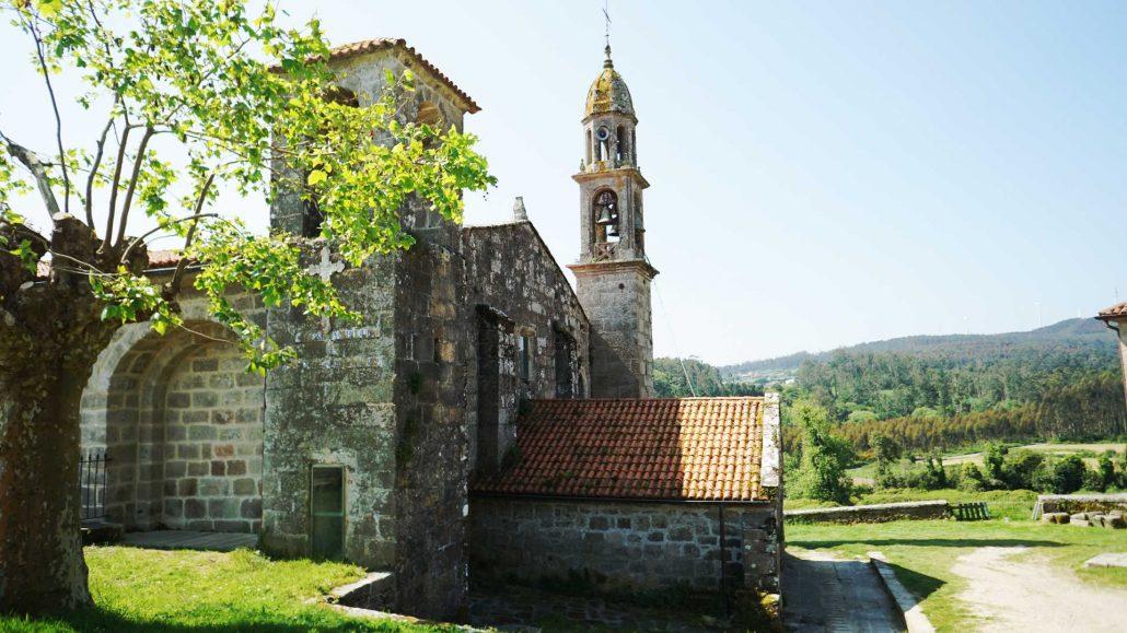 Ria de Camarinias - Kloster am ria