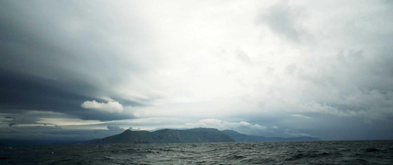Wolken bei Finisterre