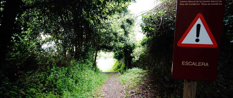 Ria de Baqueiro - Wandern . . . geht hier immer