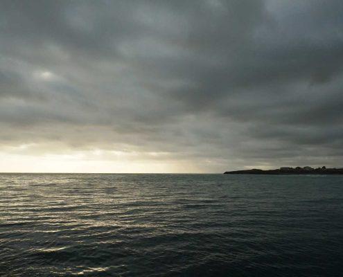 Foz - Sonnenuntergang